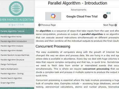 Parallel Algorithm