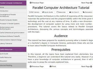 Parallel Computer Architecture Tutorial