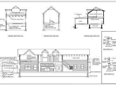 building permit drawing
