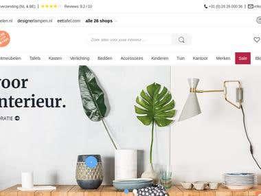 E-Commerce Website - staging.eyoba.nl