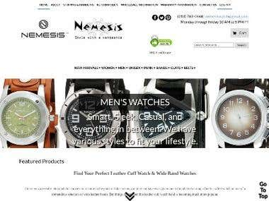 website design and development-nemesiswatch