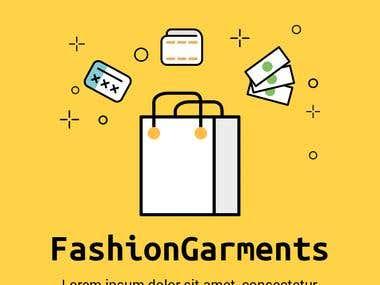 Fashion e-commerce mobile app