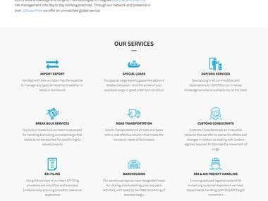 Plain web design