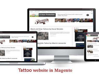 Tattoo lover website