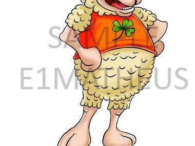 Irish mascot