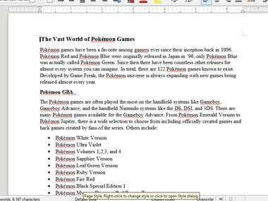 Pokemon article