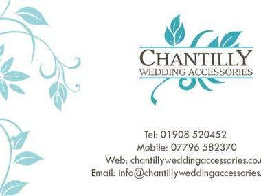 Chantilly Business Card