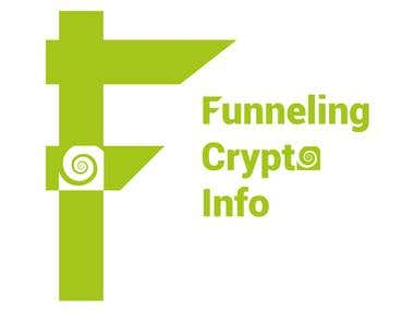 Logo for Funneling Crypto info.