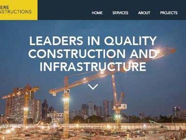 Builder Web Site Design