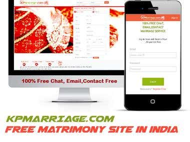 matrimonial website-kpmarriage.com