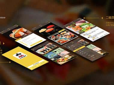 Food Delivery Iphone, Andoid App