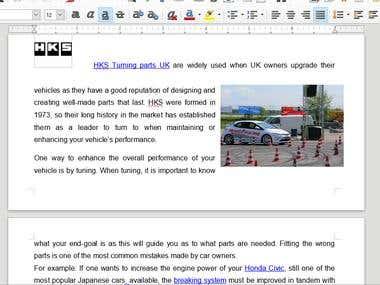 Car Article