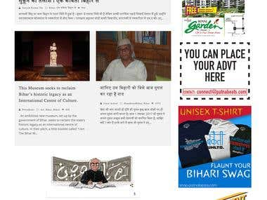 News Website Wordpress