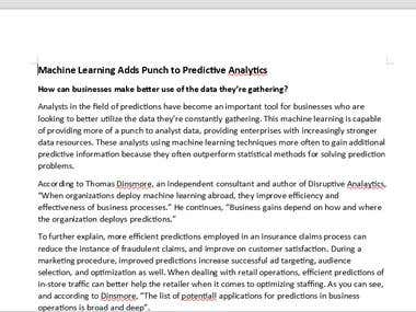 Machine Learning Adds Punch to Predictive Analytics (1)
