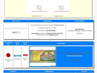 Redesign Website Templates (Ecommerce website)