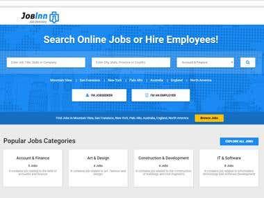 Job Portal (Wordpress )