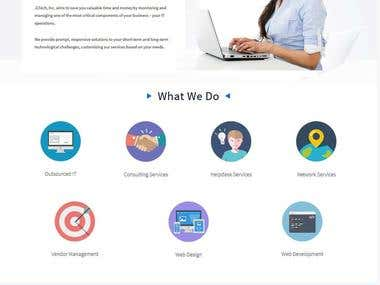 Wordpress Website for JL Tech INC