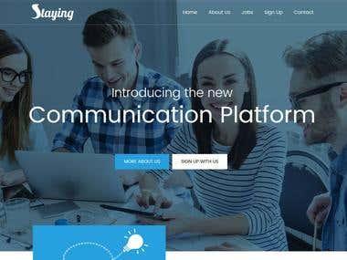 Staying App Website