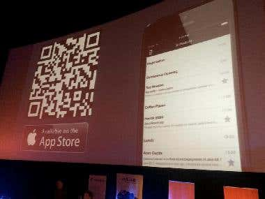 Developers Conference App