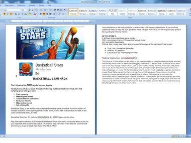 Article for Basketball Stars Hack
