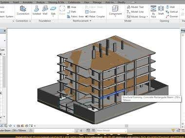 3D Modeling Using Revit