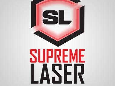 Supreme Lasers logo