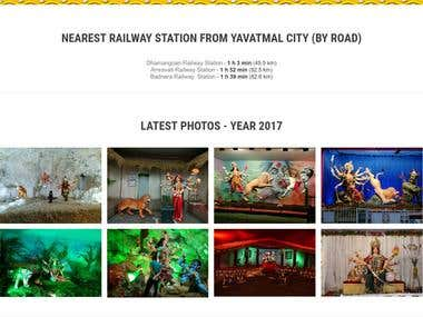 Yavatmal Navratri website