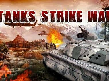 Tank Strike War 3D