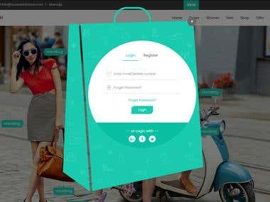 Spunky - Multi-Purpose E-COMMERCE Template