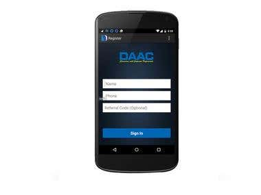 DAAC Institute Android App