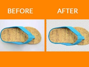 Background Remove and Retouch