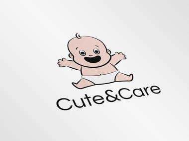 """Cute&Care"" Logo Design"