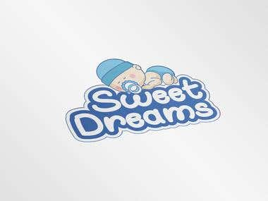 """Sweet Dreams"" Logo Design"