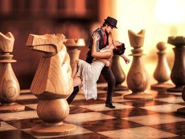 """Chess"" Photo Manipulation"