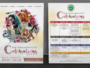 Flyer Design for SAN FERNANDO CITY