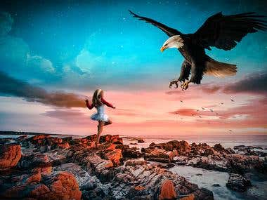 """Eagle"" Photo Manipulation"