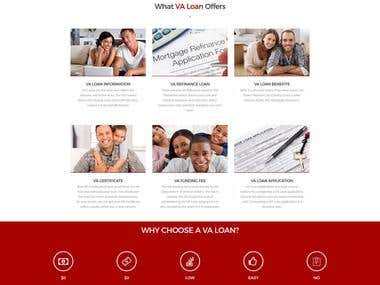 VA Home Loans Website