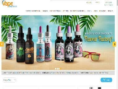 Vape Shop Online Supplier