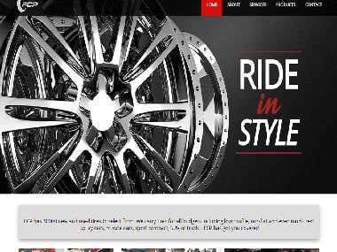 Automobile and Tire industry Website