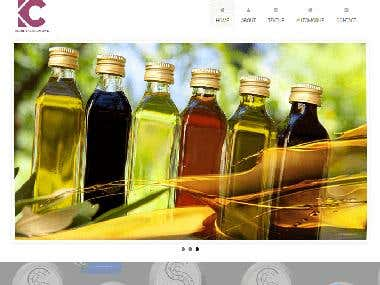 Chemical Company Portfolio Website