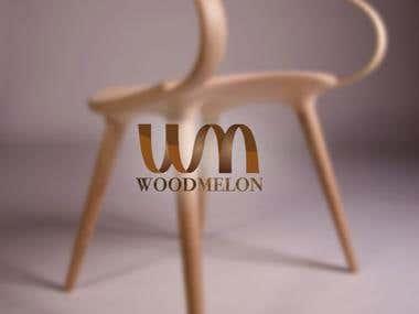 """Logo For """"woodmelon"""" organization"""