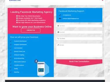 Digital marketing Company Website