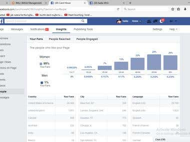 SMM - Social Media Marketing >>> Only USA Facebook likes