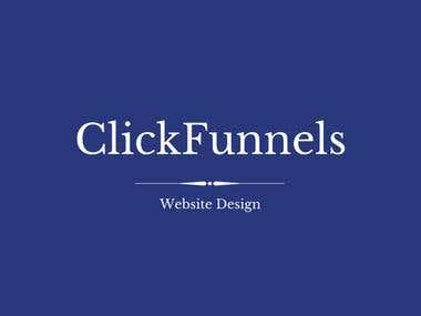 ClickFunnels Website Design