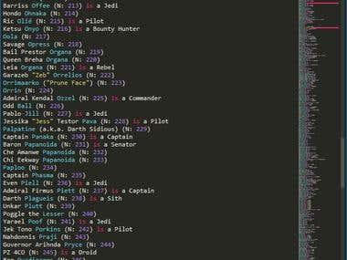 Star Wars Classifier - Python/Scikit-Learn/Beautiful soup