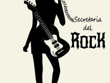 Logo Secretaria del Rock