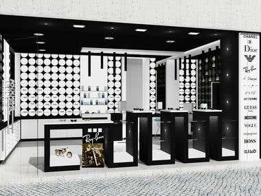 3d Architectural shop