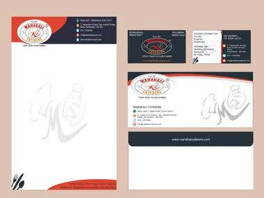 Combo of Visiting Card, Letter Head, Logo