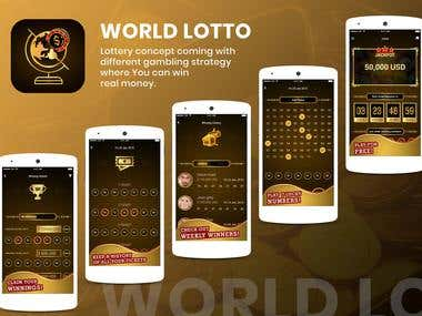 World Lotto Lottery Application