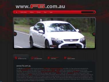 Cars Website